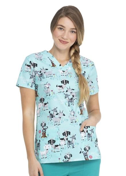 Bluza medyczna damska o worze IVGO