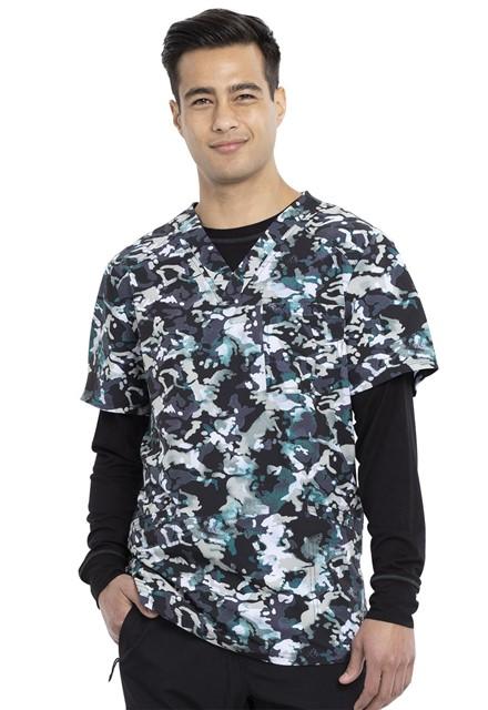 Bluza medyczna męska Cool Down Camo