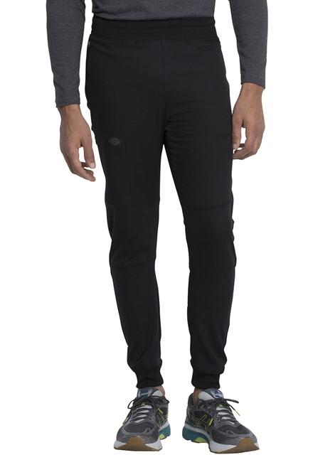Spodnie medyczne męskie Dynamix czarne jogger