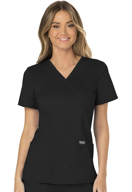 Bluza medyczna damska Revolution czarna