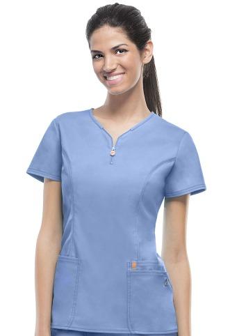 36440f13c7 Bluza medyczna damska antybakteryjna błękitna