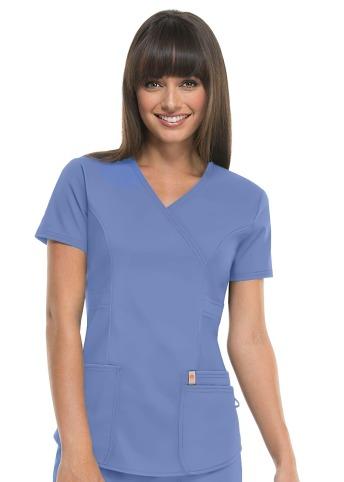 d49f0d8250 Bluza medyczna damska antybakteryjna błękitna